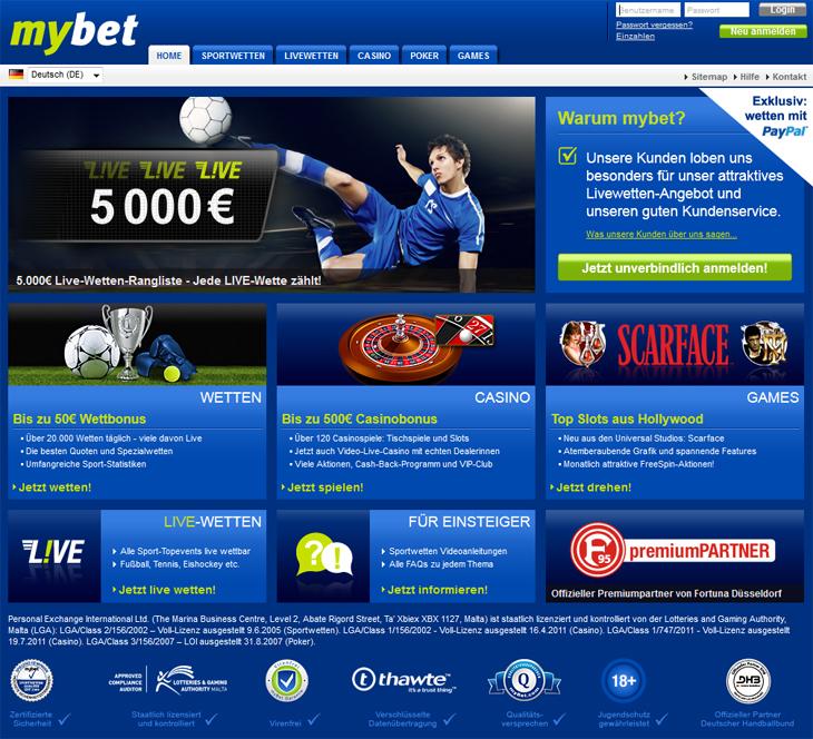 mybet.com sportwetten